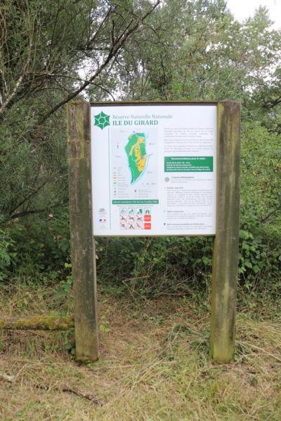 Découverte de la réserve naturelle de l'Ile du Girard