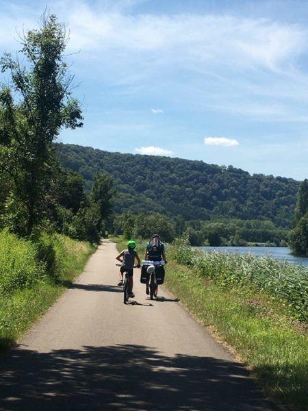 Aventure vélo en famille sur l'Eurovélo 6