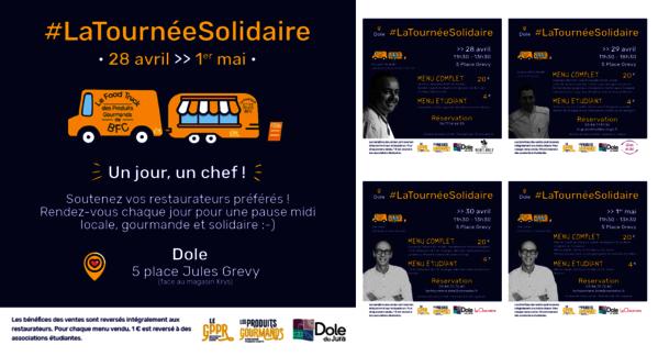 L'ambassade Gourmande lance la tournée solidaire à Dole