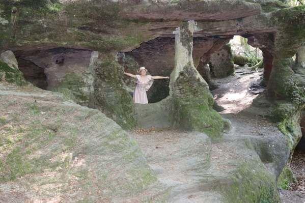 Balade autour de la Serre et à la grotte de l'Ermitage